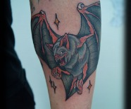 Bat tattoos