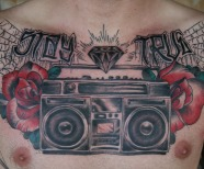 Boombox tattoos