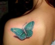 Butterflies tattoo