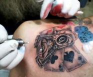 Card tattoos