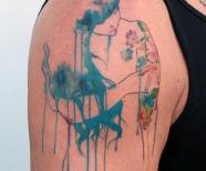Cool black small tattoos
