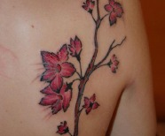 Delicious cherry tattoos