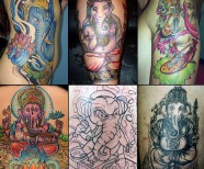 Ganesh Tattoos