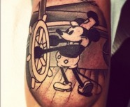 Great Disney style tattoos