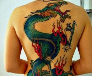 Great dragon tattoo