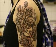 Guns And Roses Tattoos