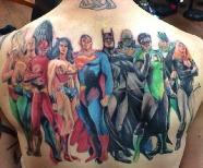 Incredible simple back tattoos