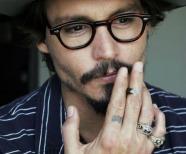 Johnny Depp Finger Tattoo