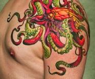 Octopus simple tattoos