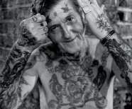 Old people tattoos