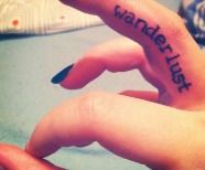 Quotes tattoos on fingers