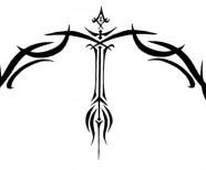 Sagittarius Symbol Tattoo Designs