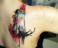 Sand clock tattoos