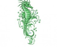 Seahorse Tattoo Meaning