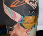 Sports tattoo
