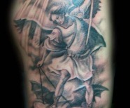 St Michael The Archangel Tattoo