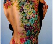 Stunning orchid tattoos
