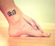 Super Mario style tattoo