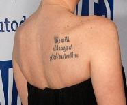 Tattoo On Shoulder Blade