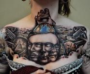 Tattoos by Benjamin Laukis