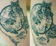 Tattoos Of Dream Catchers