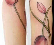 Tulips tattoos