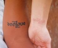 White Ink Tattoos On Pale Skin