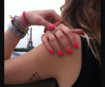 Awesome triangle tattoos