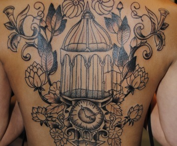 Birdcage tattoos