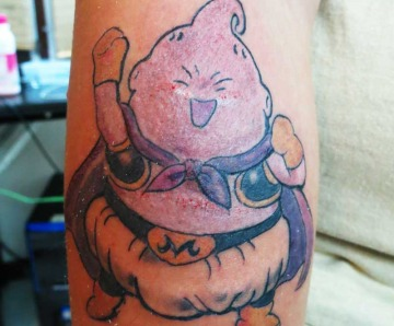 Cartoons tattoos