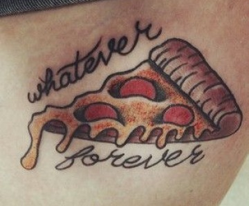 Crazy pizza tattoos