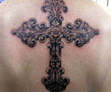 Cross design tattoos