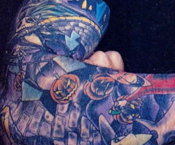 Davey Havok Tattoos