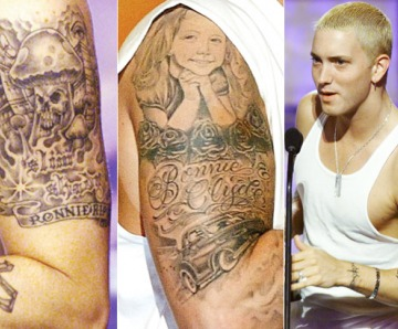 Eminem's Tattoos