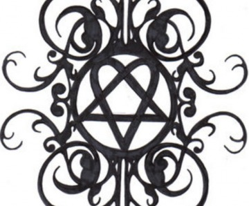 Heartagram Tattoo
