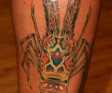 Lobster tattoos