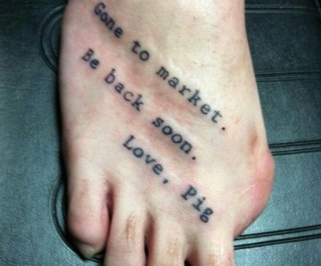 Quotes tattoos on arms