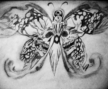 Skull Butterfly Tattoo Meaning