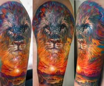 Sunset tattoos