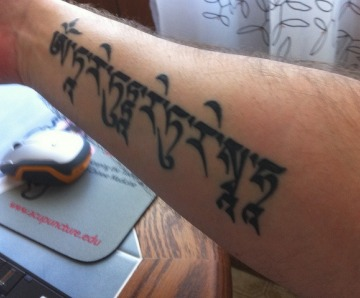Tara Mantra tattoos