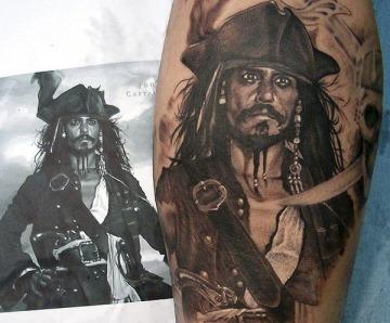 Tattoos by Xavier Garcia Boix