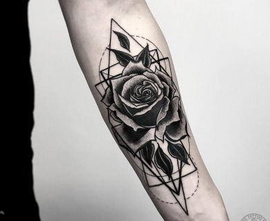 141 Most Insanely Kick Ass Blackwork Tattoos From 2016