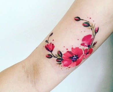 39 Luxurious Poppy Tattoos