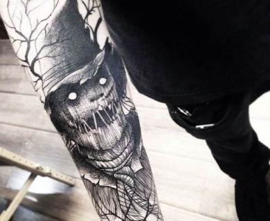 45 Spook-Tacular Halloween Tattoos