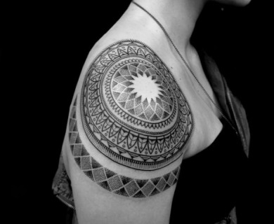 59 Dreamy Mandala Tattoos You Can't Ignore