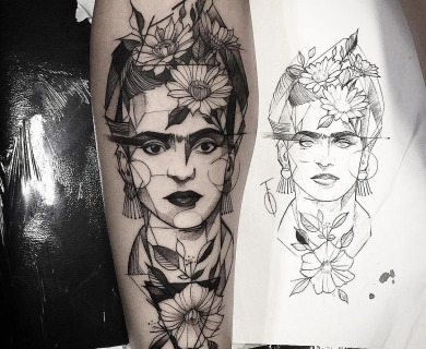 68 Perfectly Imperfect Sketch Style Tattoos