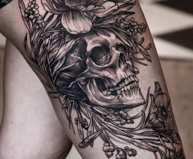 Literally The Best 65 Skull Tattoos In History