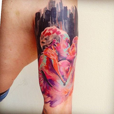 Watercolor Tattoos By Ondrash