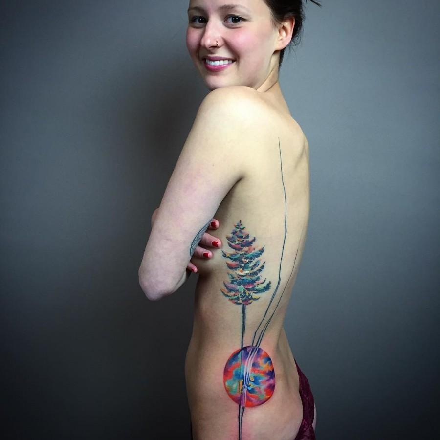 Watercolor Tattoos By Ondrash