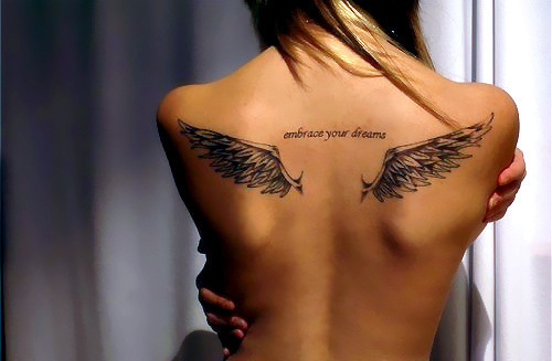 Angel Wings Tattoo Women